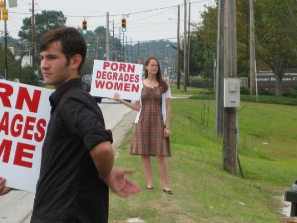 Pornography Protest