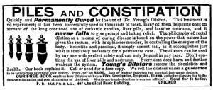 Youngs Dilators Ad 1904